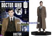 Doctor Who Figurine Collection #008 Tenth Doctor David Tennant 10th Eaglemoss